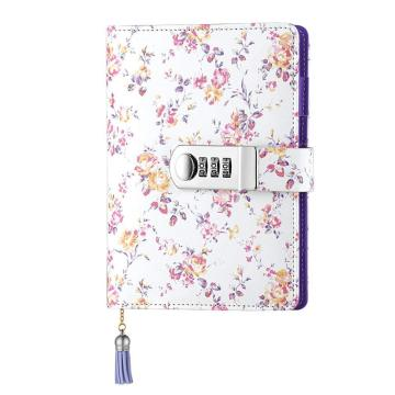 PU LEATHER MULTI-COLOR SECRET DIARY-0