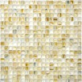 Golden hot melt technology glass mosaic tiles