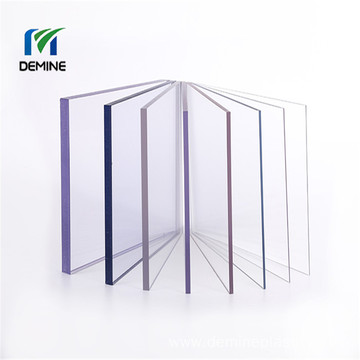 Solid clear plastic sheet polycarbonate pc solid sheet