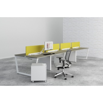 Modern steel work office desk