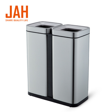 JAH 430 Stainless Steel Sortable Recycling Garbage Bin