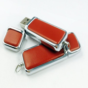Leather Key Chains Model USB Memory Stick