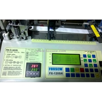 Automatic Trademark Label Cutting Machine