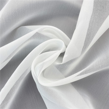 Hot White Fabric Satin Organza With Comfortable Feel
