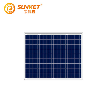 50W Ploy solar panels supply sample