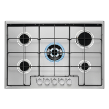 Electrolux Hob 90cm 5 Stainless Steel