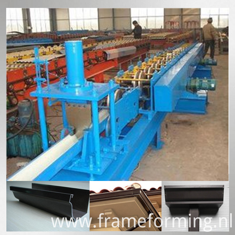 Steel Roofing Gutter Machine