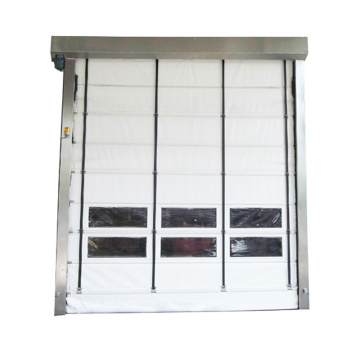 Factory price high speed roll up stacking door