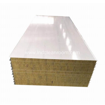 Fireproof rock wool board as building exterior wall
