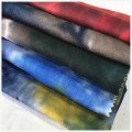 Rayon Spandex Oe Tie Dyed Fabric