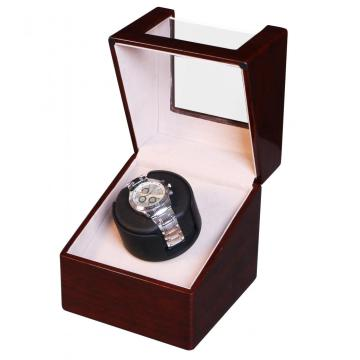 Single Watch Winder Box With Rose Wood