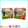 Custom Corrugated Box Fruit Packaging Box Grape