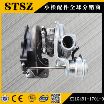 Komatsu genuine parts  PC56-7 turbocharger  KT1G491-1701-0