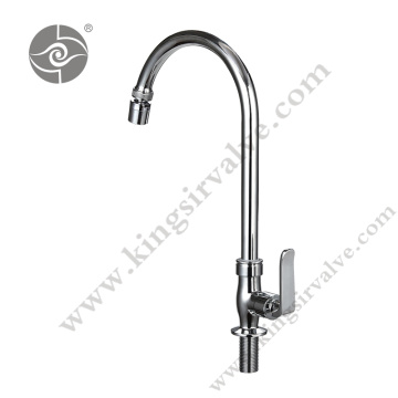 Chrome plated polished faucets