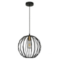 Metal Round Ball Modern Indoor Decorative Pendant Lamp