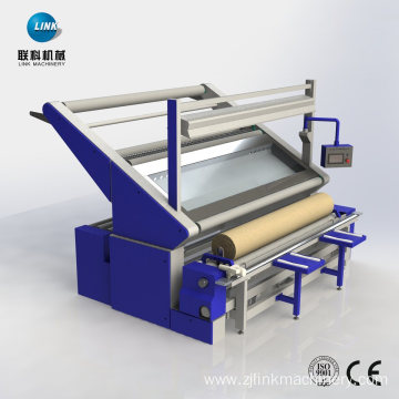 Textile Dyeing Finish Inspection Rolling Winding Machine