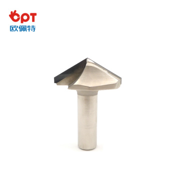 PCD wood router bit