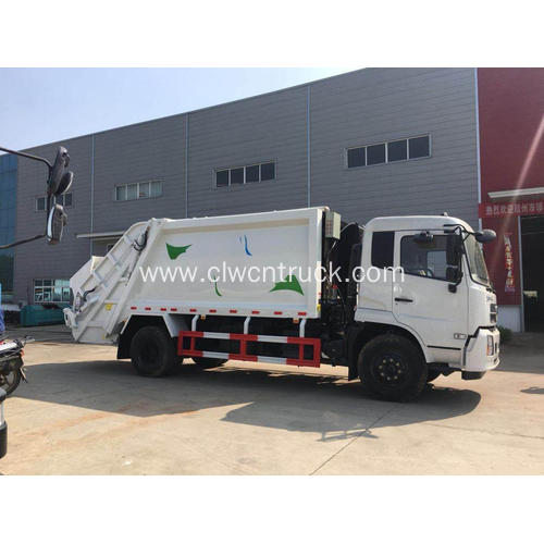 HOT SALE Dongfeng 180hp 12cbm Compacted Garbage Truck