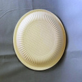 8Inch Biodegradable Corn starch Fast Cake Plate