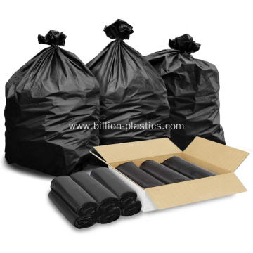 Large Black Garbage Bags 30 Gallon