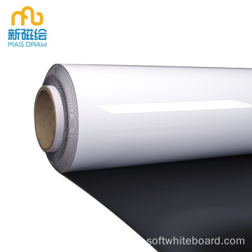 Huge Magnetic Dry Erase White Board Roll Up