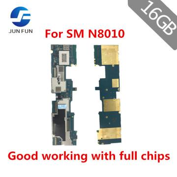JUN FUN 16GB Used unlocked motherboard for Samsung Galaxy Note 10.1 N8010 WIFI motherboard