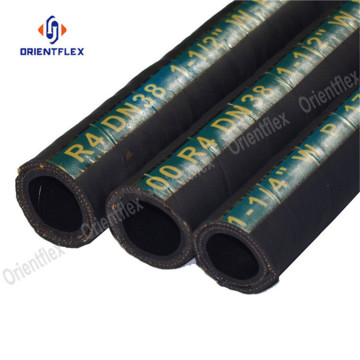 Oil suction and return hose R4