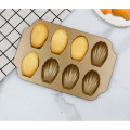 Golden Shell Madeleine Baking Pan