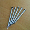Hardened steel magnetic black concrete nails