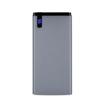 banco de potência slim 10000mah com display led