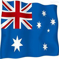 custom cheap australian flag beach towel