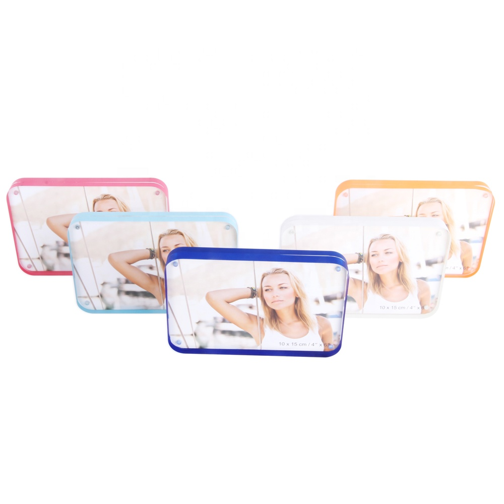 Two Sided Acrylic Photo Frame