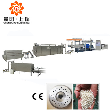 Artificial rice extruder instant rice processing machine