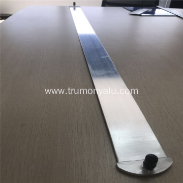Aluminium micro channel tube with inlet and outlet