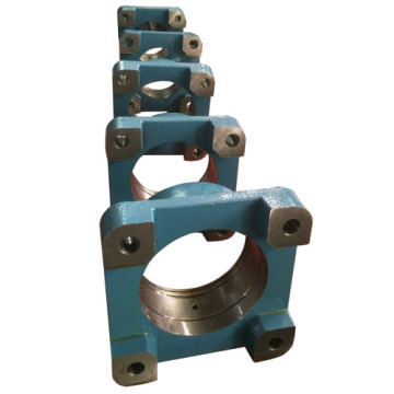4-Bolt Square Ductile Iron Flange Bearing Housing