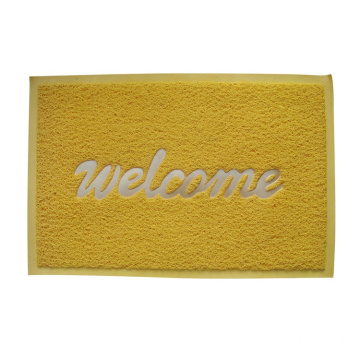 9mm PVC door mat print welcome logo