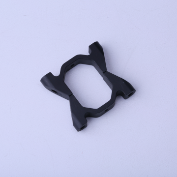Aluminum tube clamp for octagonal tube