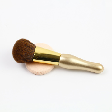 Mini pinceaux de maquillage couleur or