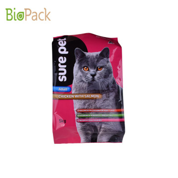 High quality Pet Cat Food Side Gusseted Bag From China