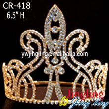 Gold Beauty Pageant Crowns
