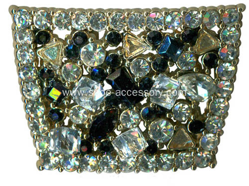 Diamante Shoe Buckle, Shoe Jewelry