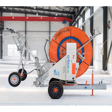 Factory Supply Hose Reel Irrigation Machine
