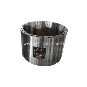 Forged Steel Finish Machining Body of Ball Valve
