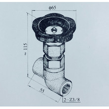 YSF-4  hydraulic spiral switch valve