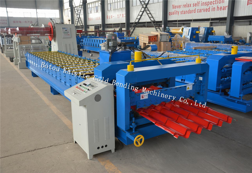aluminium panel roll forming machine