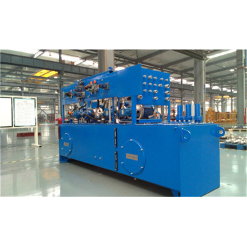 New heavy machine hydraulic system