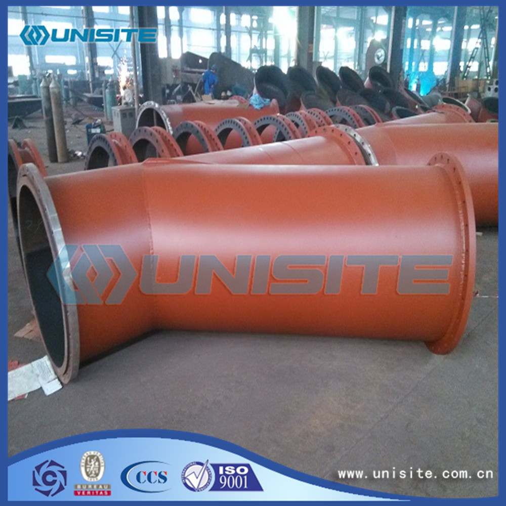 Steel Stainless Y Pipe with Flange