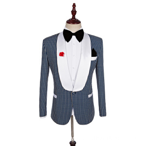 men's suit man 3 pieces suit Slim business groom