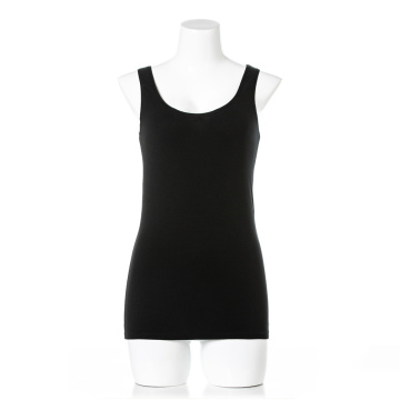 OEM private label women organic cotton sleeveless underwear