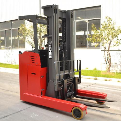 2.5 tons Electric Reach Truck 4.5m Stand-on
